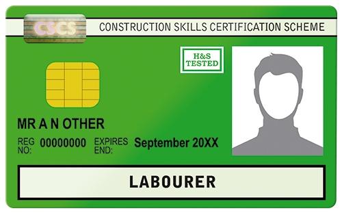 cscs cards  construction assessments
